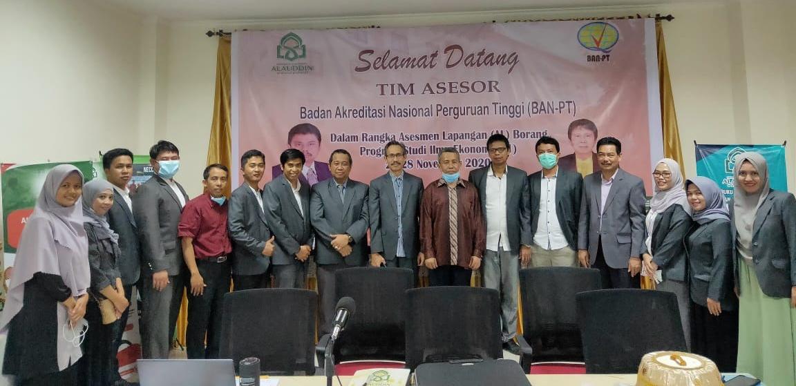 Visitasi Daring Prodi Ilmu Ekonomi FEBI UIN Alauddin Makassar